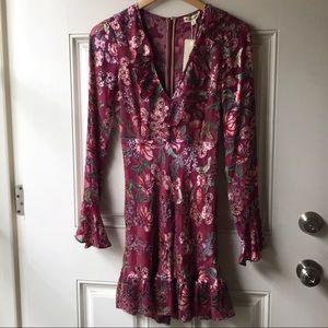 For love and Lemons floral dress